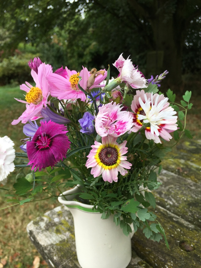 In A Vase On Monday Cut Flowers From My Garden Bramble Garden